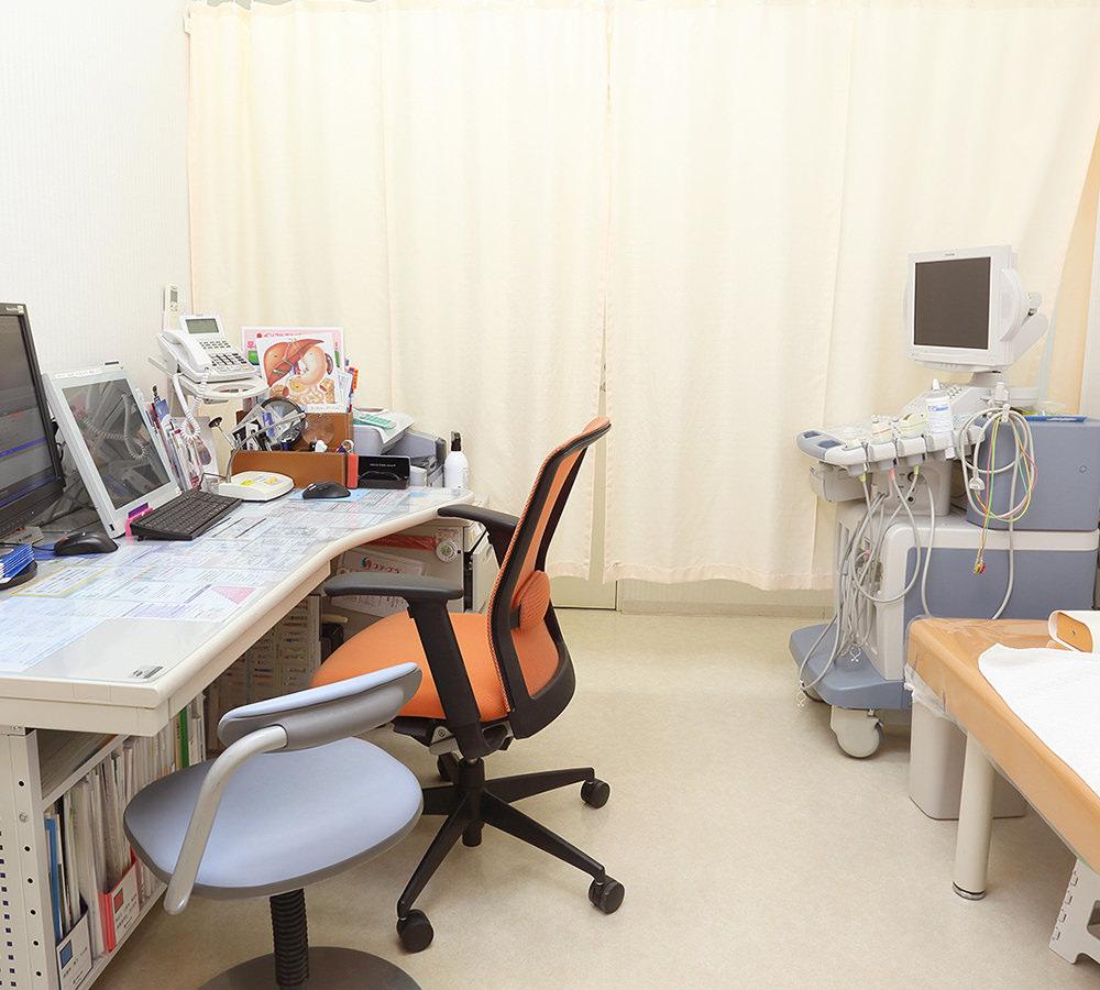 大川クリニック 診察室